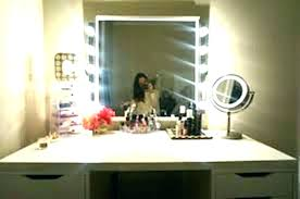 makeup vanity table with lighted mirror ikea ikea vanity mirror large size of mirror with light bulbs makeup