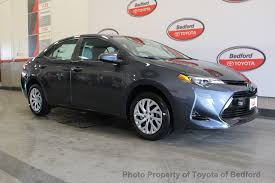 toyota corolla 2017 2017 used toyota corolla le cvt automatic at toyota of bedford