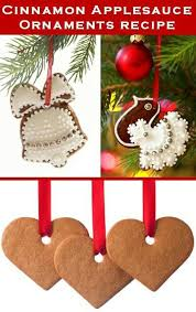 10 best diy cinnamon applesauce ornaments images on