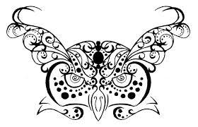 owl tribal henna tattoo design by rumpelstilzchen on deviantart