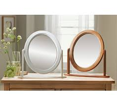 buy home oval dressing table mirror white at argos co uk your