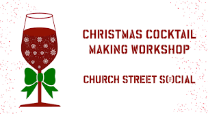christmas cocktails clipart book tickets to christmas cocktail making workshop