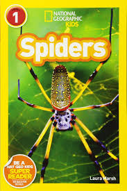 amazon com national geographic readers spiders 9781426308512