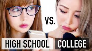 top makeup schools high school vs college makeup routine beginners tutorial