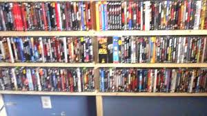 home made dvd shelving unit and a shout out