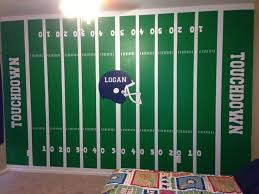 Sports Decals For Kids Rooms by Best 25 Football Field Ideas On Pinterest Football Party