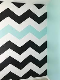 turquoise blue paint how to paint chevron stripes black white u0026 turquoise memehill