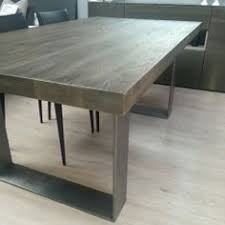 Pretentious Idea Wood Metal Dining Table All Dining Room - Metal kitchen table