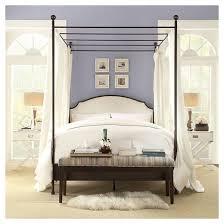 kensington metal canopy bed inspire q target