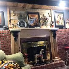 modern fireplace shelf ideas bookshelves plans wooden pallet