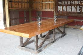 Wood Furniture Plans Free Download by The Recycled Barn Trestle Table Seating For 14 Barn Table