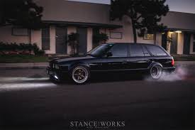 bmw wagon stance bmw e34 dakos3