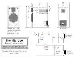 Bookshelf Speaker Design Microbe