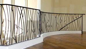 indoor stair railings wrought iron deck railing tips on how to