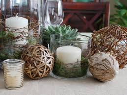 Ball Table Decorations Dining Room Candle Decorating Ideas For Homemade Thanksgiving