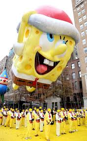 spongebob squarepants from at macy s thanksgiving day