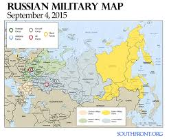 Moscow Russia Map Military Map Sep 4 2015