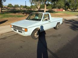 volkswagen rabbit truck 1982 volkswagen vw rabbit pickup truck 1980 1983 for sale in