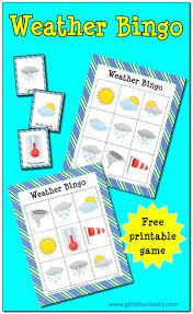 thanksgiving bingo free printable cards free printable weather bingo gift of curiosity