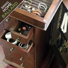 Ballard Designs Jewelry Armoire 114 Best Jewelry Organizers Images On Pinterest Jewelry Storage