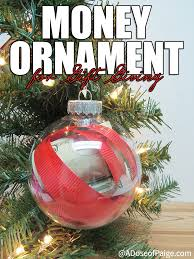 easy money ornament for gifts juggling act