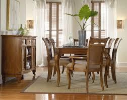 windward rectangular leg dining table hooker furniture home
