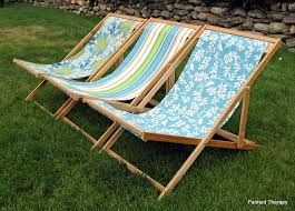 Diy Deck Chair Free Plans by Painted Therapy Diy Folding Beach Sling Chairs Free Plans For
