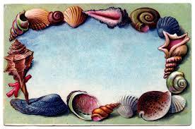 clip souvenir seashell postcard 2 the graphics