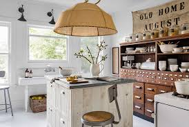 country living 500 kitchen ideas gray miller upstate york home decorating with collections