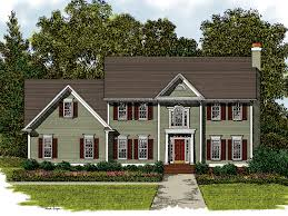 traditional 2 story house plans two story house plans