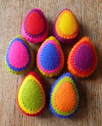 felt easter eggs 25 best images about easter on wool sewn and eggs