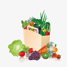 fruit and vegetable basket fruit and vegetable basket vector basket fruits and vegetables