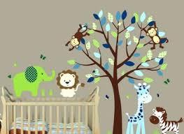 Boy Nursery Wall Decals Nursery Wall Mural Ideas Grousedays Org