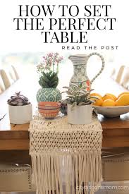 how to set the perfect table for any occasion city gone mom