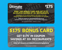 gift card offers the ultimate dining card 10 restaurant brands