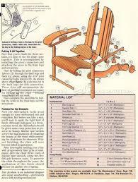 Rocking Adirondack Chair Plans Folding Adirondack Chair Plans U2022 Woodarchivist
