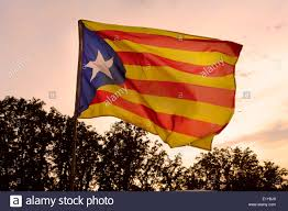 Independence Flag Catalan Independence Flag Stock Photo Royalty Free Image
