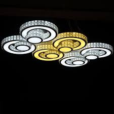 Kristall Len Modern Ceiling Lights Modern Home Bedroom Led Deckenleuchte Kristall L