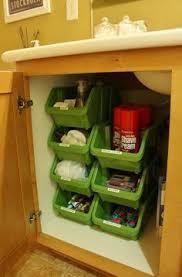 Undercounter Bathroom Storage 48 Creative Dollar Store Organization And Storage Ideas That Will