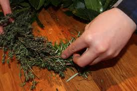 herb wreath diy chef s herb wreath 6 steps with pictures