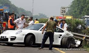 porsche 911 indonesia the porsche was heading to a local race track and driving at high