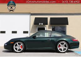 green porsche 911 2007 porsche 911 911s tiptronic coupe serv hist forest green
