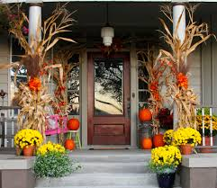 front porch fall decor at hathorn hall sweet sorghum living i am