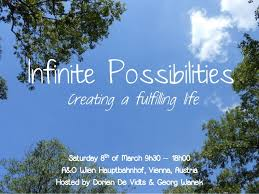 infinite possibilities infinite possibilities creating a fulfilling workshop vienna