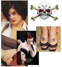 kelly osbourne ozzy skull tattoo celebrity tattoos pinterest