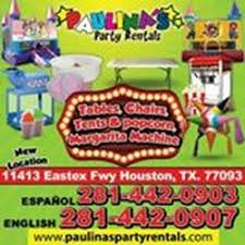 Houston Party Rentals Paulina U0027s Party Rentals Party Equipment Rentals 11501 Eastex