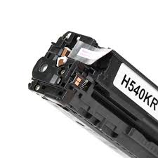 compatible hp 125a cb540a black toner cartridge moustache