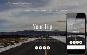 Alaska how to travel for free images Your trip a travel guide flat bootstrap responsive web template jpg