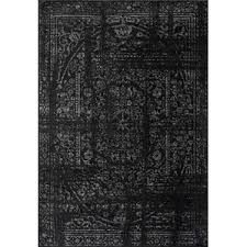 Black And Brown Area Rugs Modern Black Area Rugs Allmodern