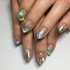 unicorn tipped nail art popsugar beauty
